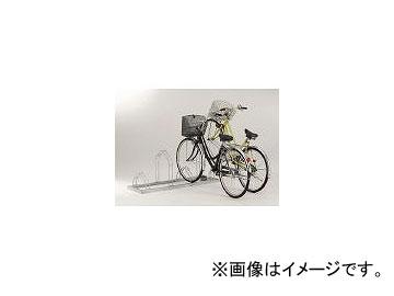 ダイケン/DAIKEN 平置き自転車ラック前輪差込式サイクルスタンド 4台収容ピッチ600 CSML4