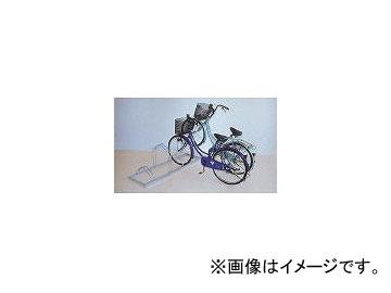 ダイケン/DAIKEN 平置き自転車ラック前輪差込式サイクルスタンド 両面12台収容 CSMW12