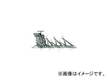 田窪工業所 スライドキーパー 8台用高低ラック SRZ1N08