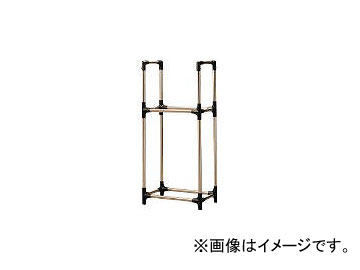 アイリスオーヤマ/IRISOHYAMA ステンレス製タイヤラックRV車用 ブラック/グレー KSL710(4048032) JAN:4905009482214