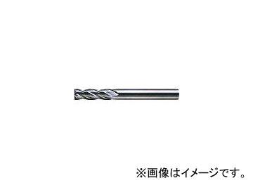 三菱マテリアル/MITSUBISHI 4枚刃超硬センタカットエンドミル(セミロング刃長) ノンコート 25mm C4JCD2500(6593356)