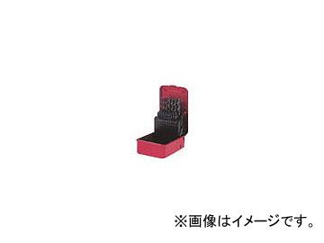 三菱マテリアル/MITSUBISHI コバルトハイスドリルセット ステンレス用 19本組 KSDSET19(1081438) 入数:1セット(19本入)