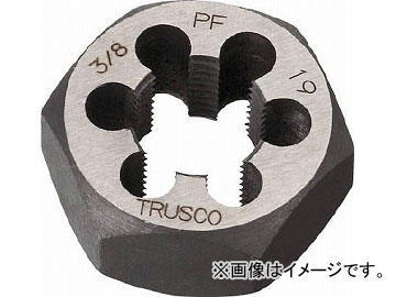 トラスコ中山/TRUSCO 六角サラエナットダイス PF1-11 TD61PF11(4329350) JAN:4989999232196