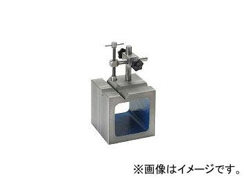 新潟精機/NIIGATASEIKI 鋳鉄製V溝付桝型ブロック 100mm SBV100T(4327349) JAN:4975846302228