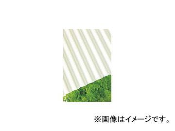 タキロンKCホームインプルーブメン/TAKIRON ポリカ波板 32波 6尺 740ミルク 217606(4531639) 入数:10枚 JAN:4907077217606
