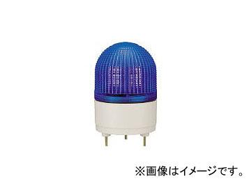 パトライト/PATLITE KHE型 LED表示灯 φ100 点滅・流動・ストロボ発光 青 KHE24B B(4591062)