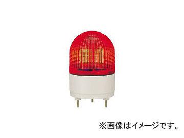 パトライト/PATLITE KHE型 LED表示灯 φ100 点滅・流動・ストロボ発光 赤 KHE24R R(4591089)