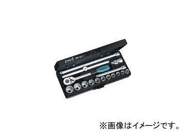 ハゼット/HAZET ソケットレンチセット(12角タイプ・差込角9.5mm) 880ZN1(4395492) JAN:4000896041992