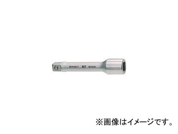 ハゼット/HAZET エクステンションバー 差込角19.0mm 全長400mm 1018(4392400) JAN:4000896002030