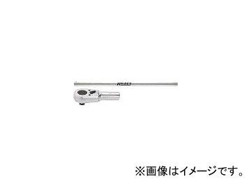 ハゼット/HAZET ラチェットハンドル(スタンダード小判型ヘッド・高負荷タイプ) 10162(4392370) JAN:4000896001965