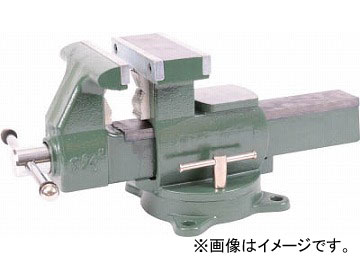 トラスコ中山/TRUSCO 回転台付メカニックバイス(2WAYタイプ) 165mm TDWV165(4455541) JAN:4989999268331