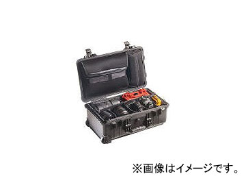 PELICAN PRODUCTS ツールケース 1510SC 559×351×229 1510SCBK(4318056)