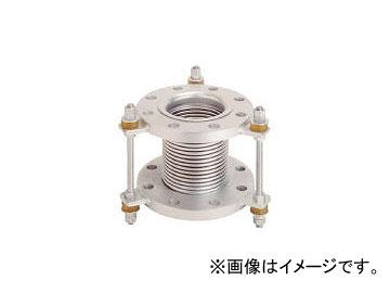 トーフレ/TOFLE フランジ無溶接型防振継手 10K SS400 50AX150L VJ10K50150(4398611) JAN:4571411267017