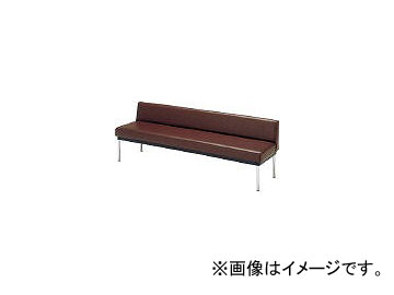 ミズノ/MIZUNO ロビーチェア 背付き ブラウン MC7A BR(4656385)