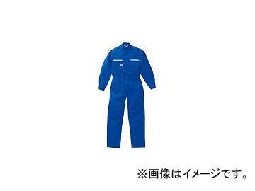 山田辰 ツナギ服 LLサイズ マリンブルー 6800MBLL(4479165) JAN:4560105061024