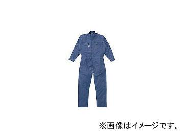 山田辰 ツナギ服 Lサイズ ブルー 5750BLL(4479076) JAN:4582103912344