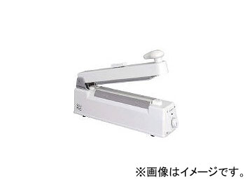 石崎電機製作所/ISHIZAKI 卓上シーラーカッター付 200mm NL202JC10W(4522427) JAN:4905058411074