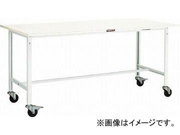 トラスコ中山/TRUSCO AE型作業台 1800X900XH740 100φキャスター付 D AE1809C100DG(4543084)