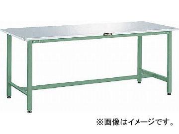 トラスコ中山/TRUSCO ステンレス張りAE型作業台 1200X750 W色 AES1200W(4543416)