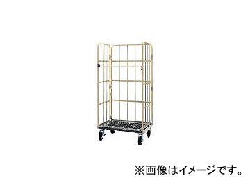 ワコーパレット/WAKO-PALLET 床板プラスチック製カゴ車 800x600x1700 WKP8060(4335210)