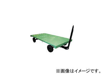 佐野車輛製作所/SANO 2輪ナックル式トレーラー 最大積載荷重 2000kg L40FN2020N(4529120)