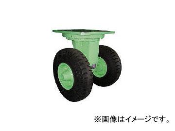 佐野車輛製作所/SANO 超重量級キャスター ダブル自在車 荷重1500kgタイプ 2841(4528930)