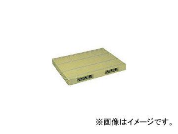 日本プラパレット プラスチックパレットZR-1111E 両面二方差し ライトグリーン ZR1111ELG(4678834)