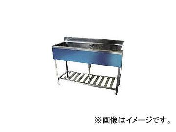 東製作所/AZUMA 一槽シンク(ホース付) 1200×450×800 KP11200(4525469) JAN:4560155870133