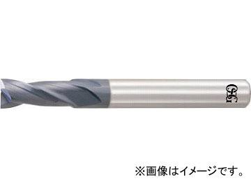 OSG 超硬エンドミル WXL 2刃 2.0D刃長 WXL-2D-DE-9(6336094)
