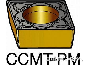 サンドビック コロターン107 旋削用ポジ・チップ 5015 CCMT060208-PM_5015(6109632) 入数:10個
