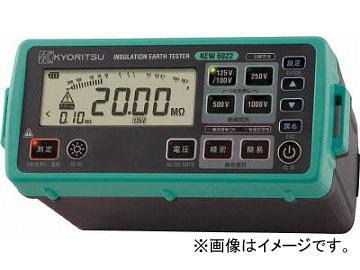 KYORITSU デジタル絶縁・接地抵抗計(L型プローブモデル) KEW6022L(4796608) JAN:4560187064463