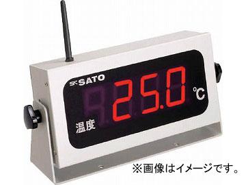 佐藤 コードレス温度表示器(8101-00) SK-M350R-T(4797027) JAN:4974425800421