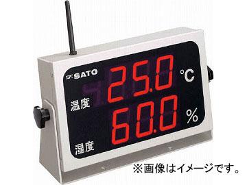 佐藤 コードレス温湿度表示器(8102-00) SK-M350R-TRH(4797035) JAN:4974425800476