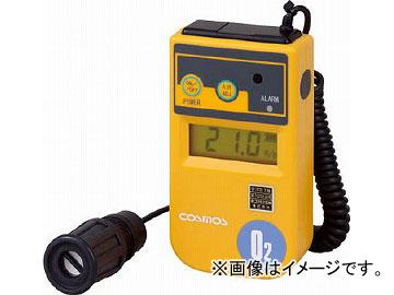 新コスモス デジタル酸素濃度計 1mカールコード付 XO-326-2SB(4860071)
