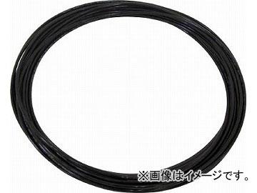 送料無料 チヨダ TEタッチチューブ BK 黒 4855752 100m メーカー直売 直営ストア 16mm TE-16-100BK JAN:4537327048560