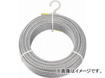 トラスコ中山 メッキ付ワイヤロープ φ6mmX200m CWM-6S200(4891066) JAN:4989999336153