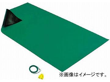 HOZAN 導電性カラ-マット 1×1.8M グリーン 補強繊維入り F-757(4699939) JAN:4962772097571