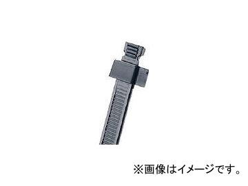 パンドウイット スタストラップ ナイロン結束バンド 耐候性黒 SST1.5S-M0(4775431)
