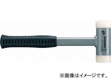 HALDER スーパークラフトハンマー スティール製ハンドル付ナイロン(白) 頭径7 3377.07(4818385)