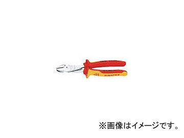 絶縁1000V強力型ニッパー JAN:4003773041955 クニペックス 250mm 7406-250(4717261)