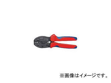 クニペックス 圧着ペンチ プレシフォース 220mm 9752-50(4716370) JAN:4003773051916