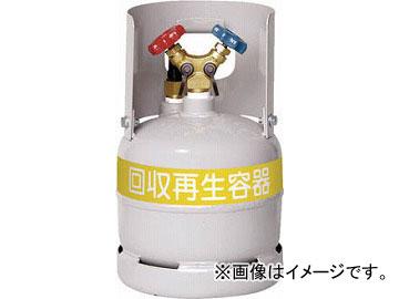 アサダ フロン回収ボンベ フロートセンサー付 無記名 6L TF090(4440048) JAN:4991756157727