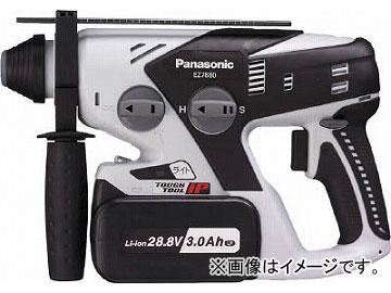 Panasonic 28.8V充電ハンマードリル EZ7880LP2S-B(4917057) JAN:4549077184009