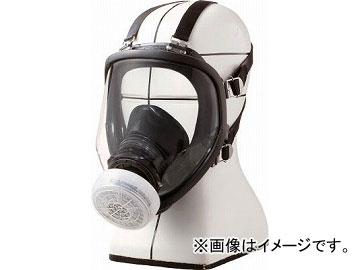 シゲマツ 直結式小型全面形防毒マスク GM166(4896149) JAN:4959382002521