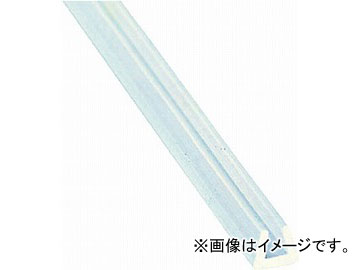 光 シリコンチューブ角溝だラム巻き5.8×4.5×100m SCK3-100W(4739825) JAN:4977720010748