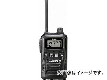 アルインコ 特定小電力トランシーバー 20ch ブラック DJPB20B(4794281) JAN:4969182360974