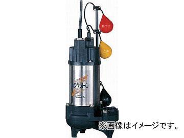 川本 排水用樹脂製水中ポンプ(汚物用) WUO-505/655-1.5LNG(4784723) JAN:4582293886470