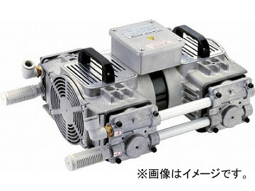 ULVAC 揺動ピストン型ドライ真空ポンプ DOP-400SB(4797752)