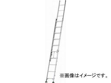 アルインコ 二連梯子 全長4.67m~7.43m 最大仕様質量130kg SX74D(4555791) JAN:4969182263237