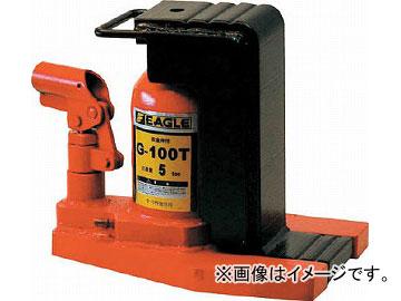 イーグル 低床・レバー回転・安全弁付爪つきジャッキ 爪能力5t G-100T(4560256) JAN:4520187170106